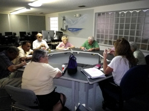 Independent Living Class in the Hernando Office