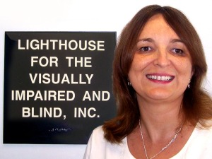 Sylvia Perez, the Executive Director at Lighthouse