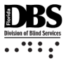 Florida Division or Blind Services Logo